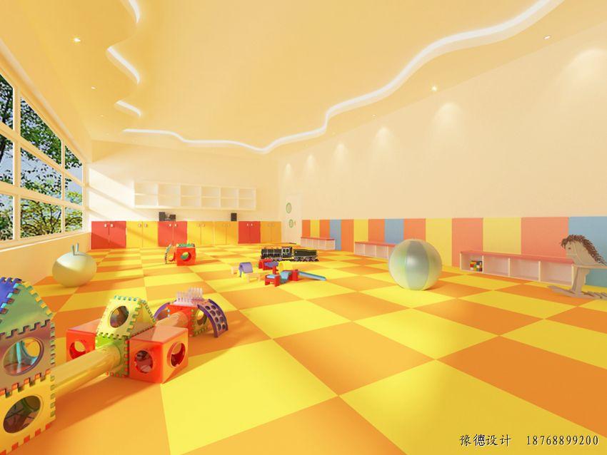 幼儿园亲子diy活动室设计效果图